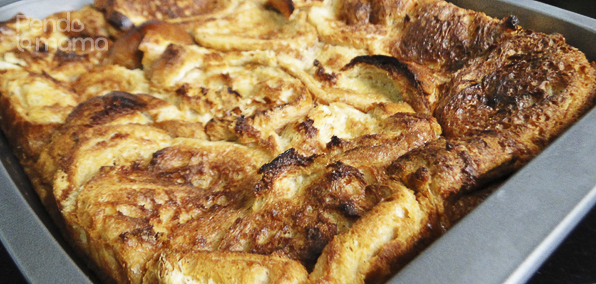baked french toast fresh out of the oven