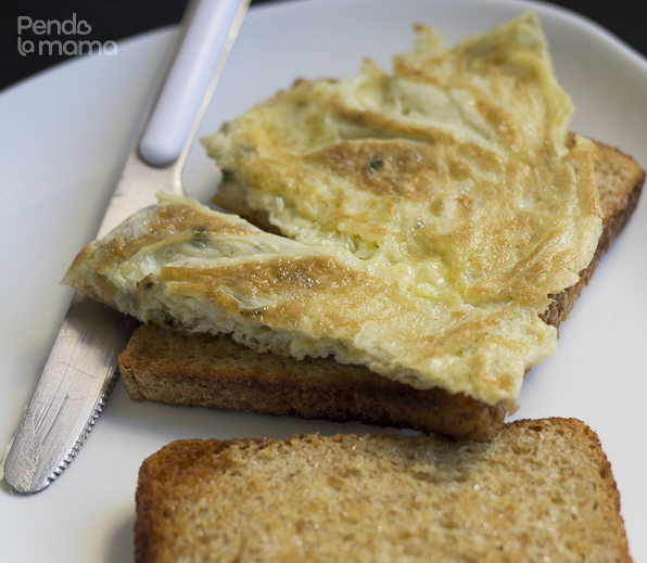 place on buttered toast — then bite! (^_^)