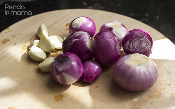 many many onions!