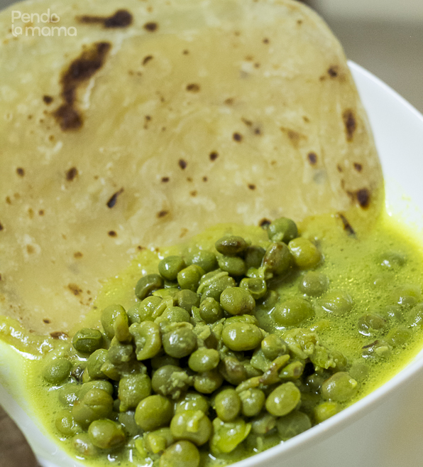 served with chapati