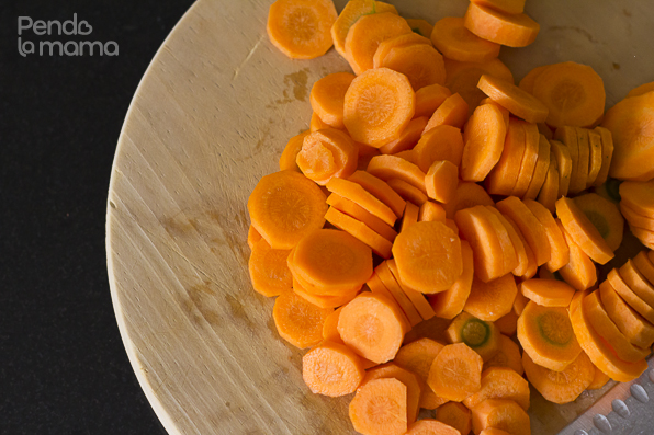 cut up your carrots the way you'd like them