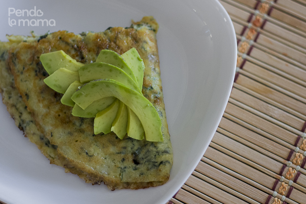 served with avocado slices
