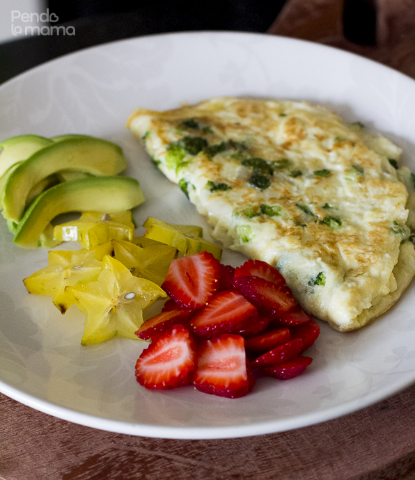 Broccoli And Cheese Omelet Recipe — Dishmaps