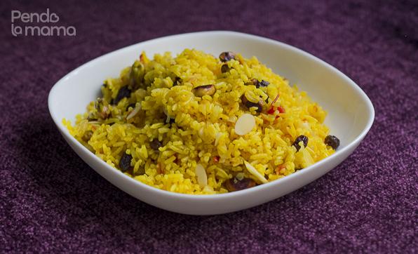 fruit & nut rice