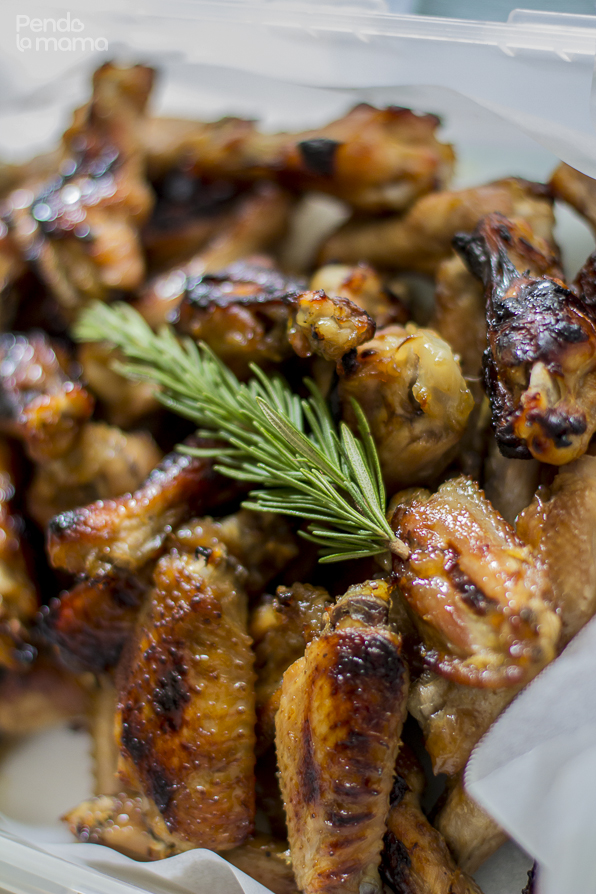 these wings are perfect as bitings for a small gathering and the prep and cooking are easy!