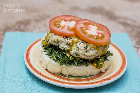 et voila! A Kenyan burger: The Westerner!